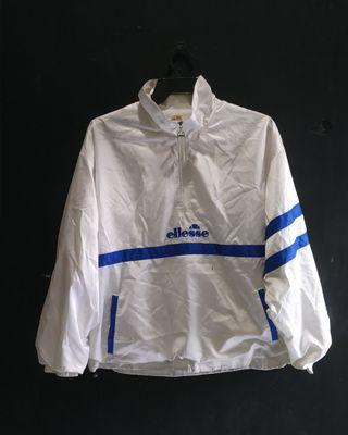 Ellesse White Color Blue Stripe Jacket