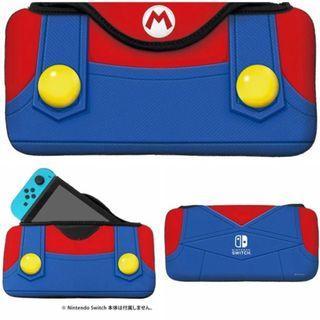 Mario Switch 保護套 保護殼 馬里奧 Nintendo NDS 任天堂 手提袋 收納袋 收納包 保護包 機袋 機套 機殼 加厚 海棉 防震 遊戲 手制 protector case cover #mtrcentral #mtrtw #mtrmk #mtrtst #mtrssp