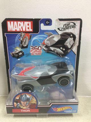 Hot wheels flip fighters Avengers Thor