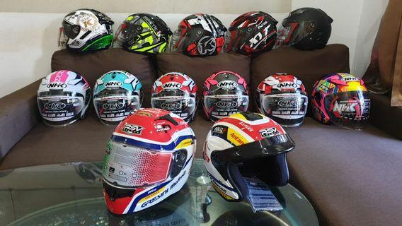 Instock and Pre order helmets