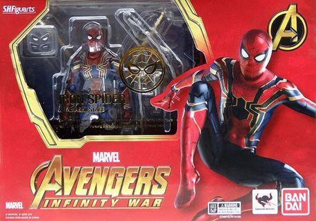 全新 行版 SHF 蜘蛛俠 Spiderman 無限之戰 Infinity War 特典版