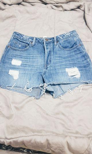 HnM denim shorts