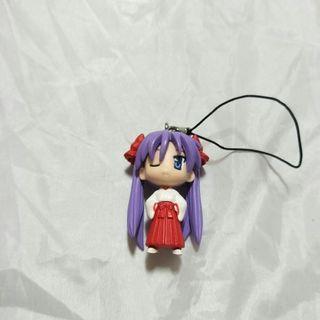 🚚 全新紫髮巫女手機吊飾