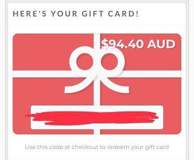 Meshki voucher FREE $20!! Worth $94.40