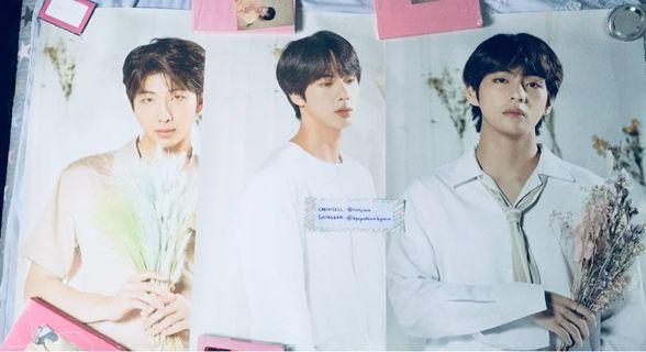 BTS LOVE YOURSELF WORLD TOUR POSTER