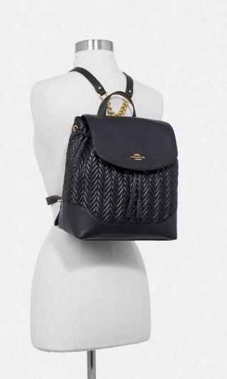 背包款❣️Coach Elle Backpack