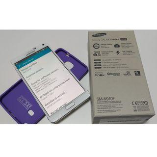 外觀九成新 Samsung Note 4 罕有歐版 單卡版 用Qualcomm 805 不是中港版用的 Exynos