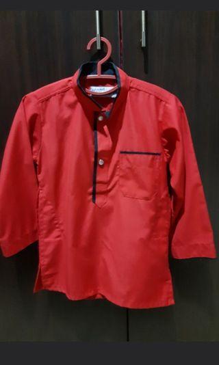 Red kurta 6 years olf