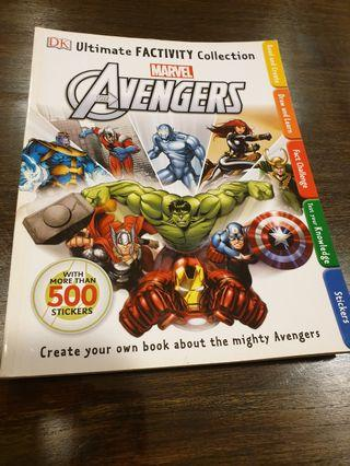 🚚 DK Ultimaye Factivity Collection Marvel Avengers
