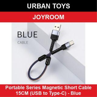 Joyroom Portable Series Magnetic Short Cable / Type-C / Blue