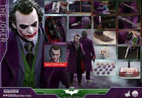 Hottoys 1:4 Joker連會場版頭雕 30號訂單