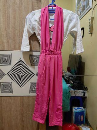 Jumsuit hello kitty pink