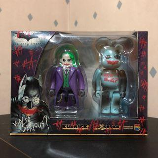 Bearbrick 100% Joker Why so serious 潮人 潮物 潮牌 Bear Be@rbrick Toy Figure Art Design Rabbrick R@bbrick Nyabrick Ny@brick 模型 擺設 收藏品 玩具 禮物 生日禮物