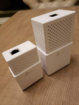 TP-LINK TL-WPA7510-KIT Homeplug 電力傳輸網絡2件套装 2.4G&5G WiFi雙頻 AC750