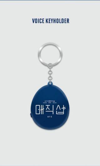 BTS 5TH MUSTER MAGIC SHOP Voice Keyholder