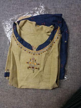 Brand new Blue Punjabi Suit