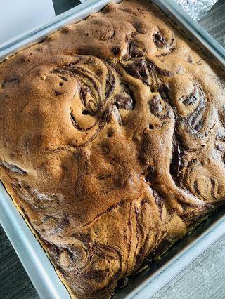 🚚 Nutella marble cake