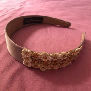 Knitted flower Hairband , korean style