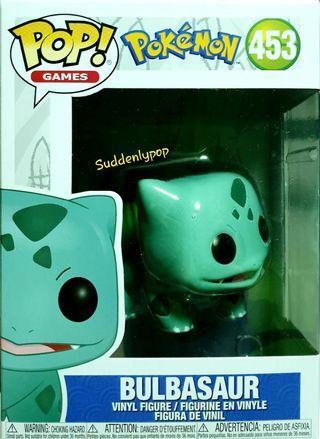Funko Pop Games PokeMon Bulbasaur #453