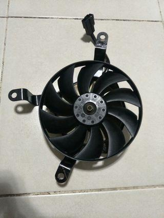 2009 - 2014 Yamaha YZF-R1 Left Side Radiator Cooling Fan