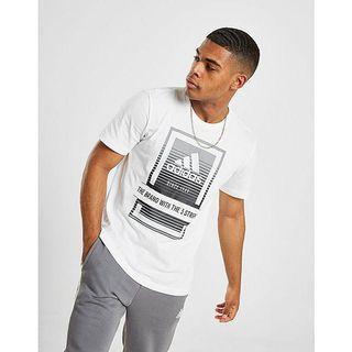 Adidas Box Fade Logo T-shirt