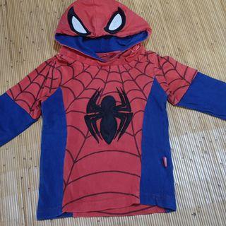 Kaos spiderman / baju super hero