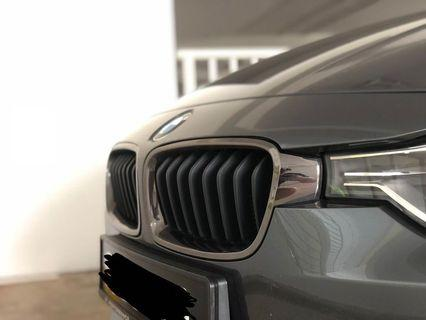 BMW F30 3 series Chrome-Matte Black Grill