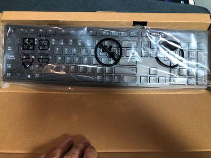全新DELL有線鍵盤+滑鼠 Keyboard
