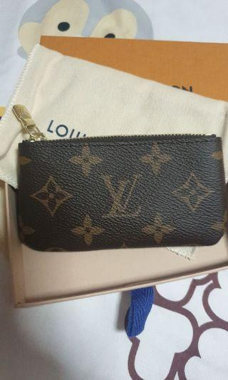 **SOLD***  LV Key Pouch