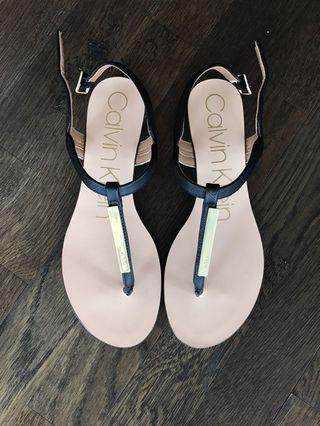 New Calvin Klein sandals