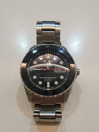 Modded Seiko 5 Sports Automatic Watch SNZF17