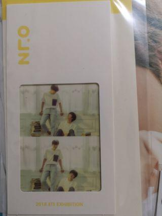 BTS Oneul Exhibition Bookmark
