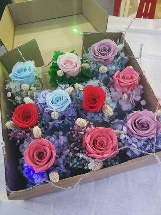 Preserved Rose Cupcake