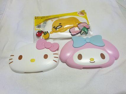 Sanrio wet wipe cover