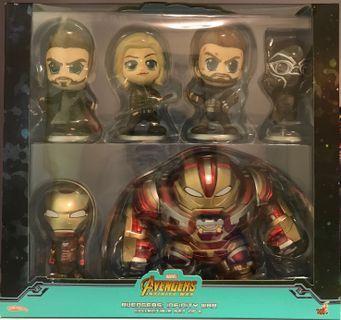 全新 渣打獨家限定版 Cosbaby (Avengers Infinity War) Set of 6 (Hot Toys)