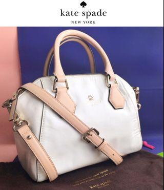 正版9成新 kate spade two way bag