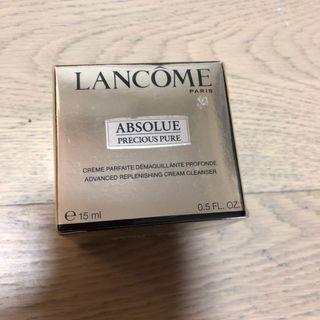 Lancôme advanced replenishing cream cleanser