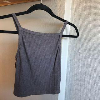 Urban Outfitters Brown Crop top