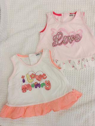 Baby Girl Sleeveless top