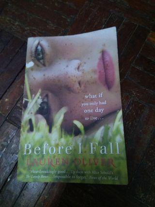 Before I Fall.