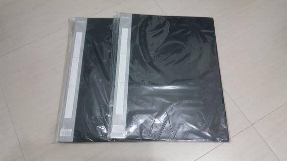 🚚 BNIB A3 Clear Folder (20 pockets)