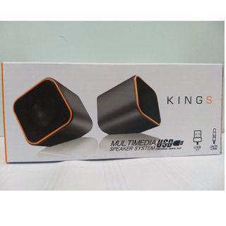 Kings USB Speakers 喇叭