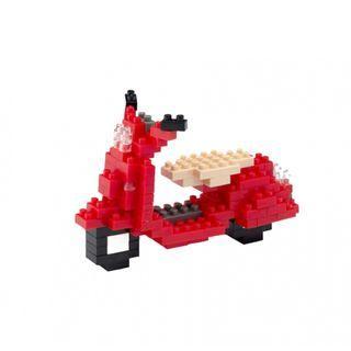 🚚 TICO Brick Red Vespa
