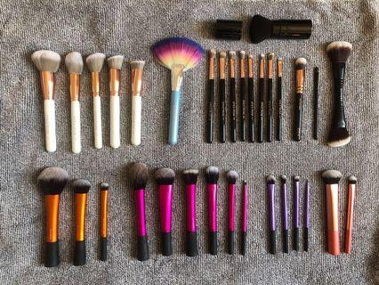 Make Up Brush Collection - Clearance Sale!