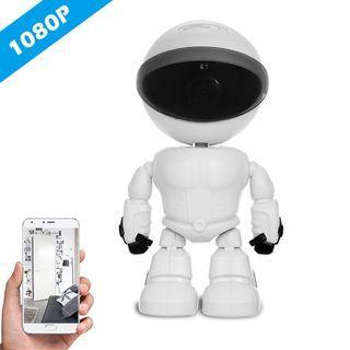 HD 1080P WiFi Robot Security IP Camera Pan Tilt WiFi Camera Support P2P Night vision