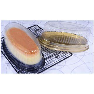 Disposable Oval Plastic Cake Box