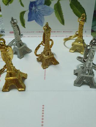 🚚 過鹽水帶回來的 鑰匙圈 🗼巴黎鐵塔
