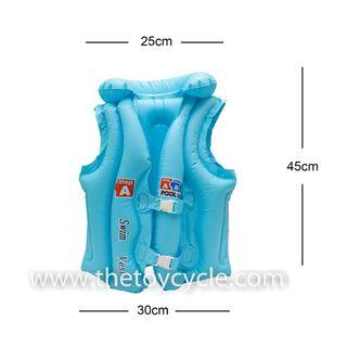 Inflatable Swimming Aid Jacket Vest