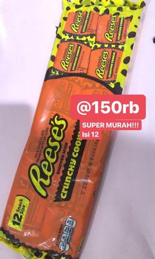 Reeses Chrunchy Cookies 12 pcs