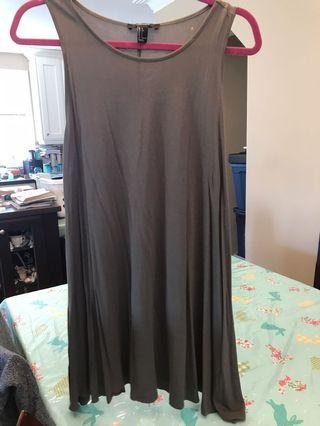 Olive green dress size large